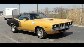 1971 Plymouth Barracuda 'Cuda 340 in Factory Butterscotch Paint on My Car Story with Lou Costabile