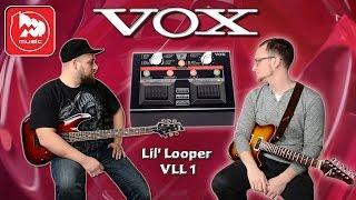 vOX Lil' Looper VLL 1 цифровой напольный гитарный лупер / процессор