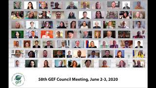 58th GEF Council Day 1 - Jun 2, 2020 - Audio Only