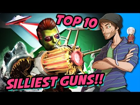 Top 10 Silliest Guns in Video Games - SpaceHamster