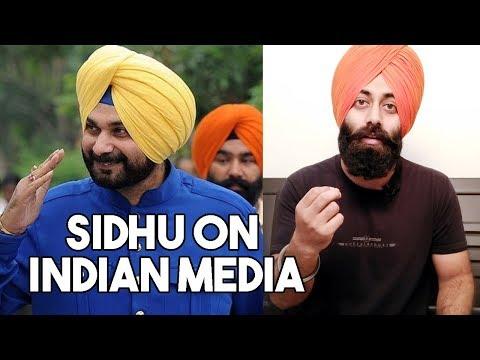 Indian Reaction on Navjot Singh Sidhu Reply to Indian Media   PunjabiReel TV