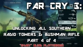 Far Cry 3: Unlocking All Southern Island Radio Towers & Bushman Rifle (Part 4/4) 113