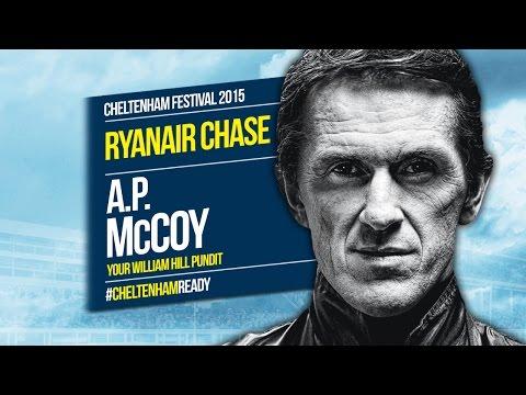 AP McCoy on Ryanair Chase