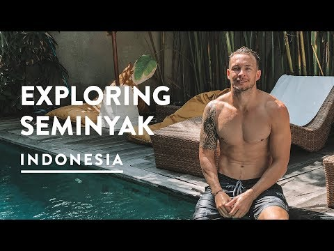 DISCOVERING SEMINYAK, BALI - THINGS TO DO, HOTELS & RESTAURANTS | Travel Vlog 129, 2018
