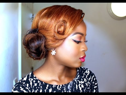 Updo Bridal Hairstyle || D.I.Y Hair Tutorial