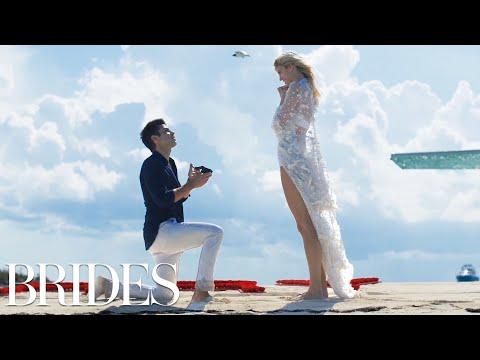 Victoria's Secret Model Devon Windsor's Perfect Proposal | BRIDES