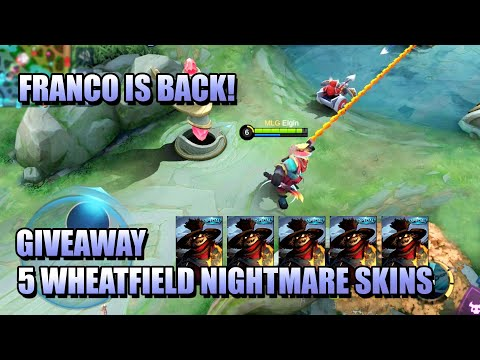 FRANCO IS BACK! LET'S CELEBRATE WITH A SKIN GIVEAWAY! - MLBB