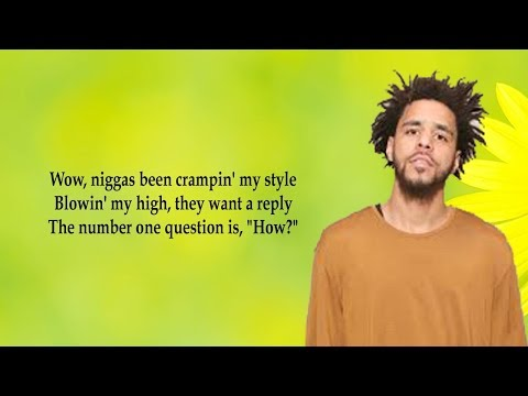 J  Cole - K O D (Lyrics)