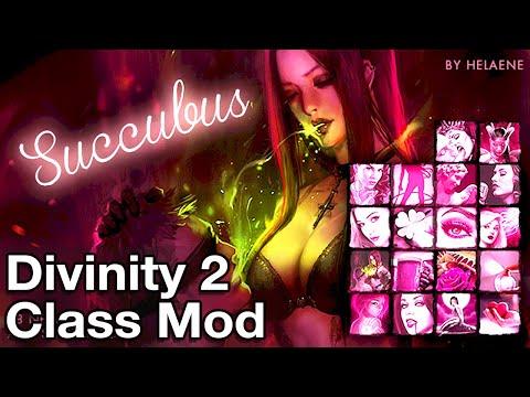 Divinity Original Sin 2 Succubus Build and Gameplay (Mod)
