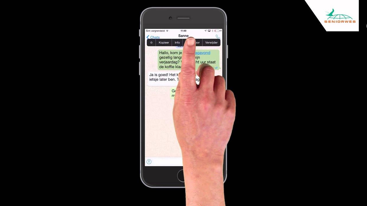 gif sturen whatsapp iphone