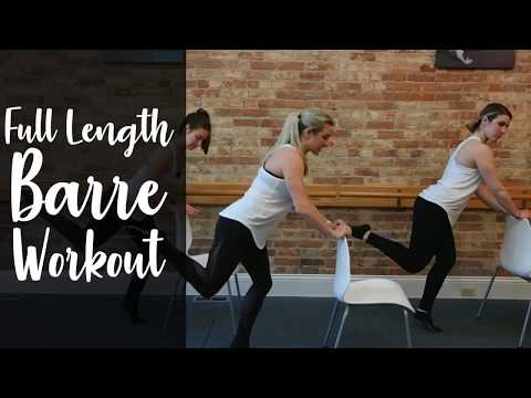 Full Length Barre Workout