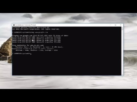 How To Check Ping In Windows 10/8/7 Command Prompt