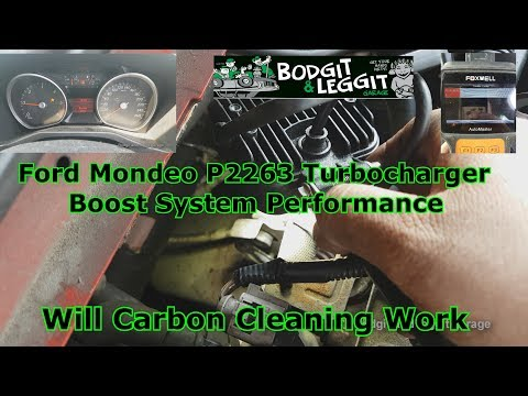 Ford Mondeo P2263 Limp Mode No Power Will Carbon Cleaning Work