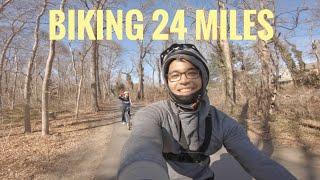 Bethpage State Park Bike Path