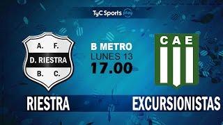 Deportivo Riestra vs Excursionistas full match