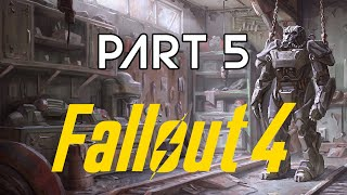 FALLOUT 4 - Part 5 - Military Frequency AF95 (Playthrough/No Commentary)