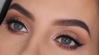 Beautiful Natural eye makeup by partners Натуральный макияж глаз Taabiiy ko z makiyaji