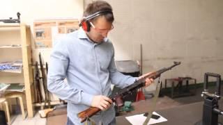 Стрельба в тире! 7,62-мм автомат Калашникова (АК-47)