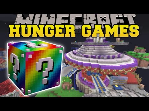 Minecraft: MARIO GALAXY HUNGER GAMES - Lucky Block Mod - Modded Mini-Game