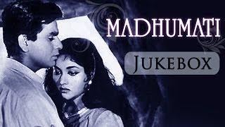 Madhumati (1958)- All Songs Jukebox - Dilip Kumar - Vyjayantimala - Mukesh - Lata Mangeshkar