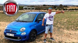Разочарован Игрушкой :  Fiat 500 Обзор/Тест-Драйв [4k/Uhd]