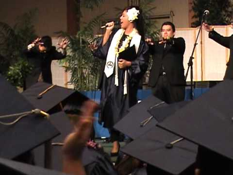 "Heald College Honolulu October 2011 Graduation Anina Carmack singing ""At Last"" with ""The Academics"""