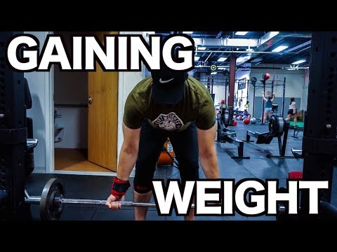 Weight GAIN After Weight LOSS (Raw Squat Workout)