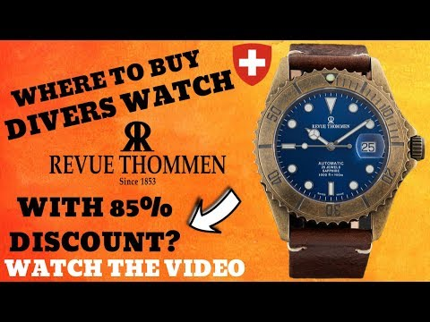 Revue Thommen Diver XL 300M Watch Review (Best Place To Buy)