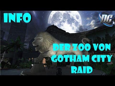 DC Universe Online - INFO - Der Zoo von Gotham City/Gotham City Zoo