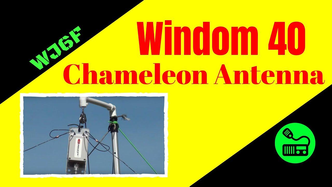 Ham Radio Antenna - Windom 40 Antenna By Chameleon Antenna