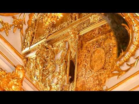 Russie   Le Palais Catherine  et la Chambre d'Ambre