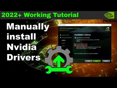 How to Properly Install Nvidia Drivers - manual install & everything explained - 2019