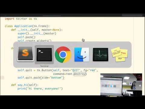 Making desktop GUI using Python| Gaurav Sehrawat | Geek Night Feb 2017