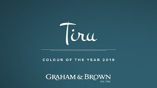 Tiru - Colour of the Year 2019 - Graham & Brown - Episode 1