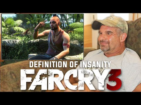 Dad Reacts To Definition Of Insanity - Far Cry 3