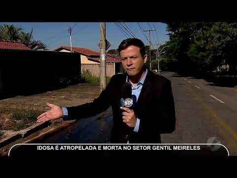JMD (24/05/18) - Idosa Morre Atropelada No Setor Gentil Meirelles