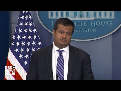 WATCH LIVE: White House deputy press secretary Raj Shah holds news briefing