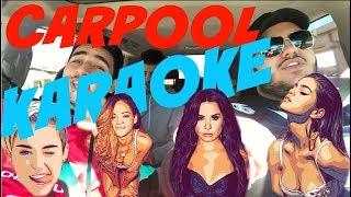Carpool Karaoke WITH CELEBRITY GUESTS!
