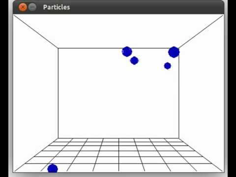 Pygame physics simulation in 3D