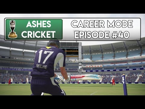BACK WITH A BANG - Ashes Cricket Career Mode #40