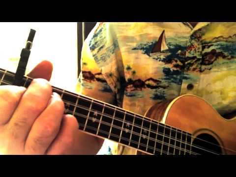 Across The Universe Ukulele Tutorial Youtube