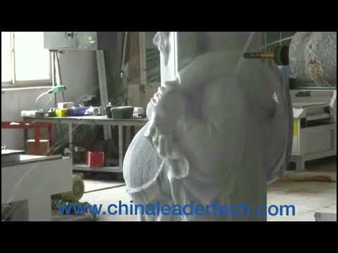 4D Stone Statue Carving Machine 4 Axis CNC Marble Engraving Machines UK UAE  USA KSA Oman Qatar Eg