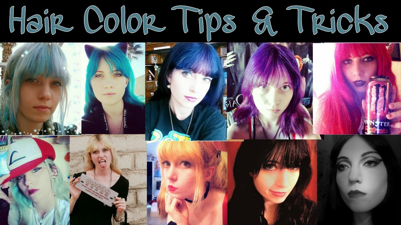 I HAVE HAD EVERY HAIR COLOR! - Hair Color Tips and Tricks - YouTube