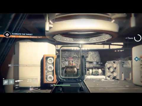 Destiny Mars Scablands Eliminate the Target