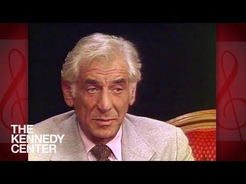 Leonard Bernstein's emotional visit to Washington, D.C. in 1981