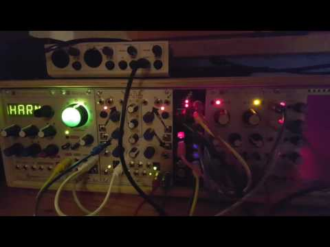 Reaktor Blocks with Mutable Instruments Rings and Warps