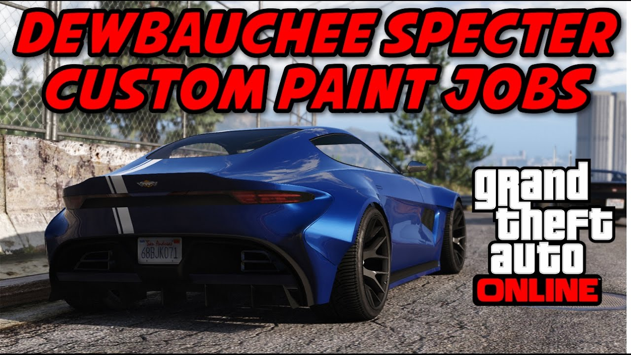 Car Paint Design Ideas view photo gallery Gta Dewbauchee Specter Paint Job Ideas Grand Theft Auto Car Paint Job Ideas Series Youtube