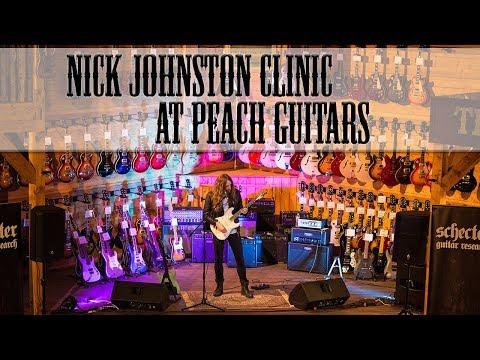 Nick Johnston Clinic & Interview @ Peach Guitars
