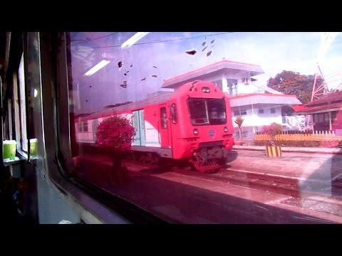Perjalanan Kereta Api Maharani dari Kota Lamongan menuju Kota Semarang