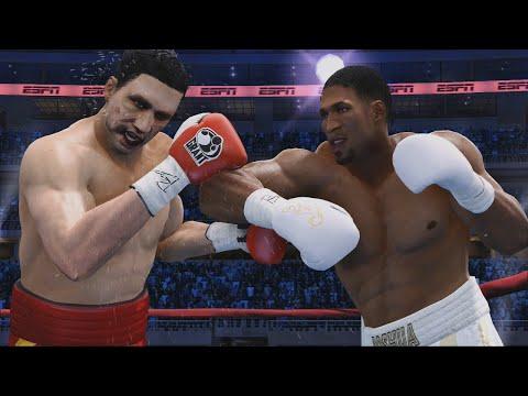 Anthony Joshua Vs Wladimir Klitschko 2 Full Fight - Fight Night Champion Simulation